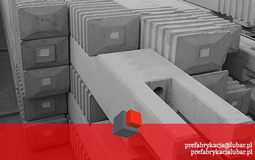 Słupy prefabrykowane - budowa w Pradze