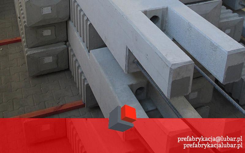 Słupy prefabrykowane - betonowe