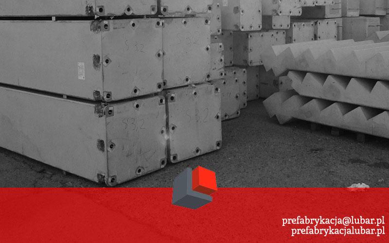 Słupy, belki, podwaliny - betonowe prefabrykaty w Gliwicach
