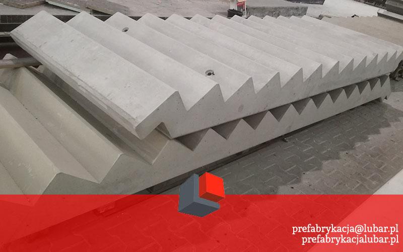 Prefabrykaty betonowe - schody