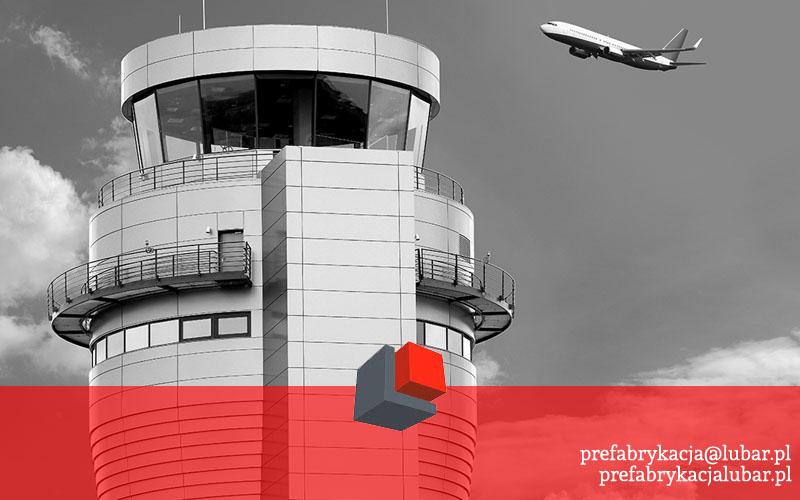 Prefabrykaty na lotnisku Pyrzowice